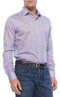 Etro Smallpaisleyprint Sport Shirt - Lyst