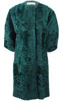 Marni Xiangao Lamb Fur Coat - Lyst