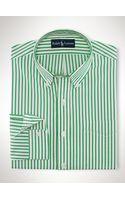 Polo Ralph Lauren Custom-fit Striped Sport Shirt - Lyst