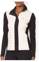 Ralph Lauren Lauren Quilted Front Jacket - Lyst