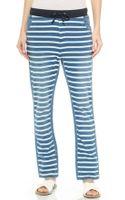 Sass & Bide Facing North Striped Pants - Indigo - Lyst