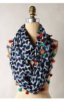 Anthropologie Quilted Ikat Scarf - Lyst