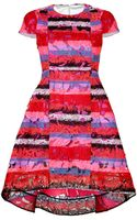 Peter Pilotto Embroidered Hana Dress - Lyst