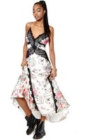 Nasty Gal Collection Love Under Fire Maxi Dress - Lyst