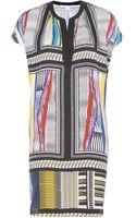 Diane Von Furstenberg Joanna Printed Silk Dress - Lyst