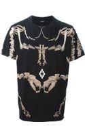 Marcelo Burlon County Of Milan Dinosaur Skeleton Print T-shirt - Lyst