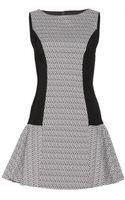 Alice + Olivia Jacquard Dress - Lyst