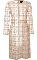 Simone Rocha Sheer Dress - Lyst