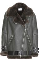 Acne Studios Velocite Shearling Jacket - Lyst