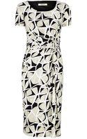 Precis Petite Abstract Print Jersey Dress - Lyst
