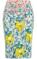 Mary Katrantzou Diamond Skirt Silverfloss - Lyst