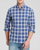 Gant Rugger Vacay Madras Woven Button Down Shirt - Slim Fit - Lyst