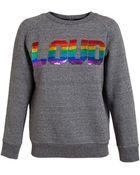 Ashish Loud Sequin Cotton Sweatshirt - Lyst