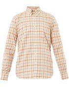 Steven Alan Collegiate Grid-Print Shirt - Lyst