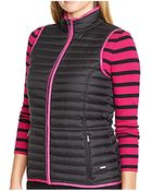 Lauren by Ralph Lauren Plus Size Quilted Vest - Lyst