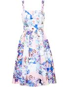 Mary Katrantzou Pique Favry Dress - Lyst