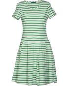 Petit Bateau Short Dress - Lyst