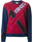 Kenzo Sweatshirt - Lyst