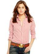 Polo Ralph Lauren Striped Cotton Shirt - Lyst