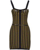 M Missoni Check-Print Sleeveless Sheath Dress - Lyst