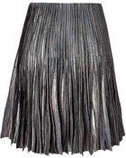 Missoni Wool Blend Pleated Skirt - Lyst