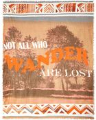 Collection Xiix Wanderlust Graphic Print Wrap - Lyst