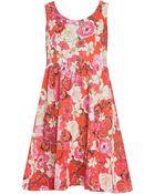 Isolda Manuela Cotton Printed Dress - Lyst