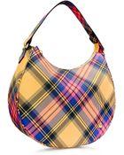 Vivienne Westwood Derby Fabric Shoulder Bag - Lyst