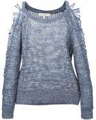 IRO Textured Knit Sweater - Lyst