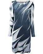 Emilio Pucci Signature Print Dress - Lyst