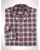 Polo Ralph Lauren Slim-fit Plaid Oxford - Lyst