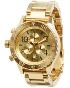 Nixon The 42-20 Chrono - Lyst