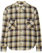 Etoile Isabel Marant Ugo Checked Cotton Shirt - Lyst