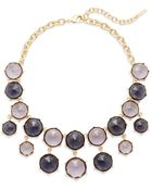 Saks Fifth Avenue Faceted Seven-Drop Bib Necklace - Lyst