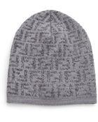 Fendi Wool-Blend Knit Hat - Lyst