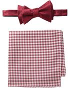 Tommy Hilfiger Dot Gingham Set - Lyst