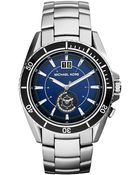 Michael Kors Mens Jetmaster Stainless Steel Watch - Lyst