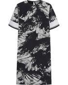 Preen Bria Printed Silk Crepe De Chine Dress - Lyst