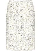 Giambattista Valli Tweed Skirt - Lyst