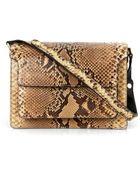 Marni Trunk Python Shoulder Bag - Lyst