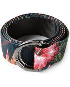 Y-3 Hibiscus Print Belt - Lyst