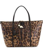 Dolce & Gabbana 'Escape' Shopper Tote - Lyst