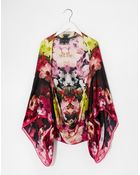 Ted Baker Cascading Floral Cape Scarf - Lyst