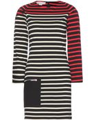 Stella McCartney Striped Cotton Dress - Lyst