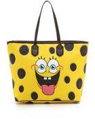 Moschino Spongebob Tote - Yellow Multi - Lyst