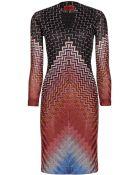 Missoni Crochet-Knit Dress - Lyst