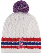 New Era Womens New York Giants Breast Cancer Awareness Knit Hat - Lyst