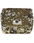 Jimmy Choo 'Ruby' Sequined Cross Body Bag - Lyst