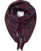 Gucci Checked Scarf - Lyst