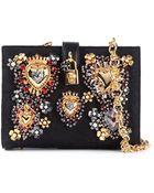 Dolce & Gabbana 'Dolce' Shoulder Bag - Lyst